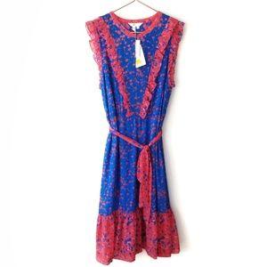Boden | Elise Floral Midi Dress New Size 16